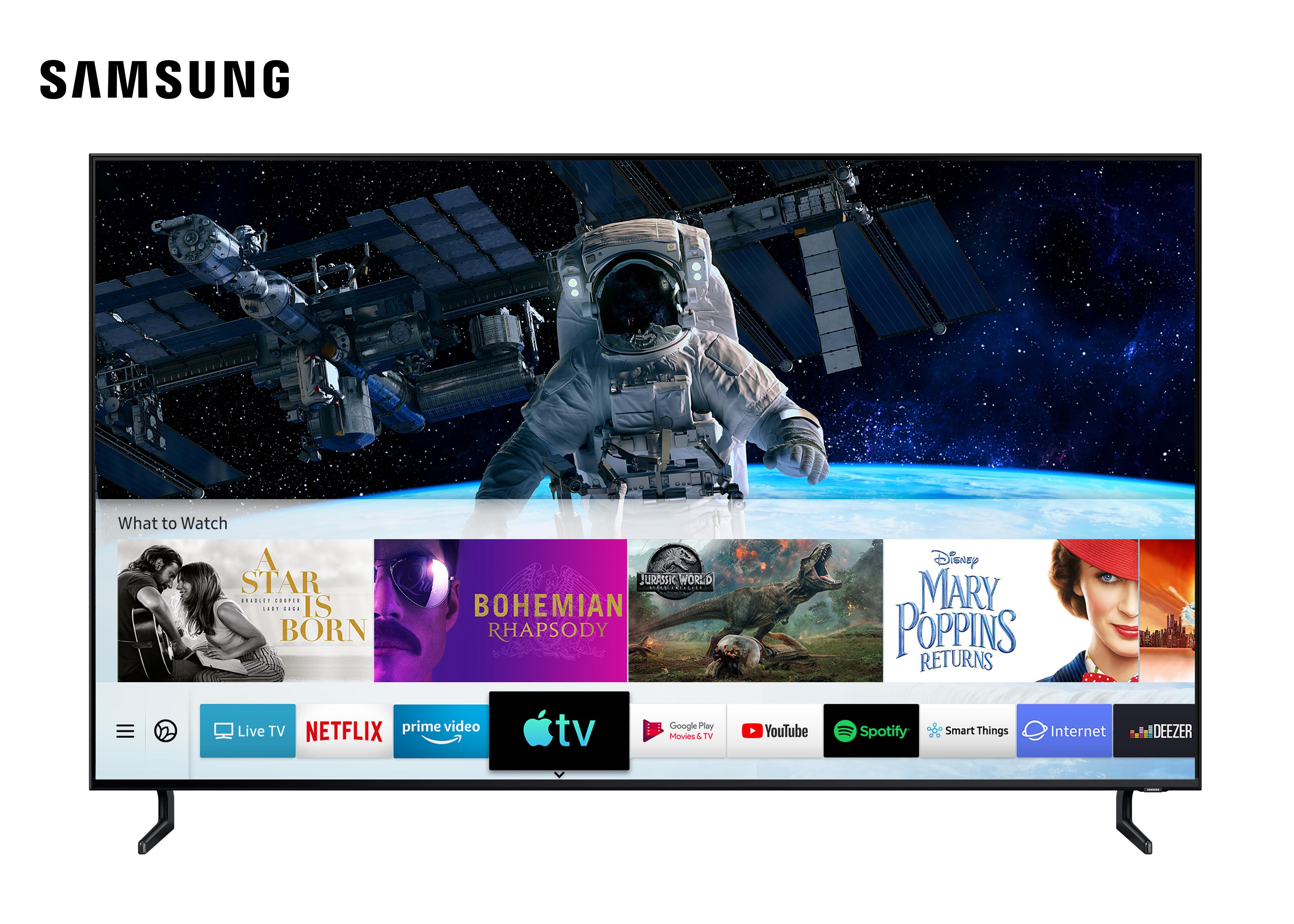 Image Samsung Apple TV Airplay 2 Launch klein
