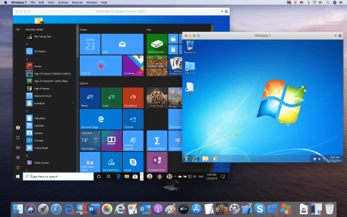 Parallels Windows 2