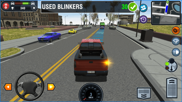 Car Driving School Simulator liggend 2