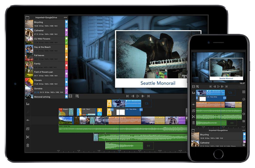 lumafusion video editing iPhone en iPad