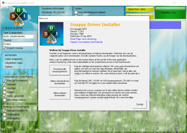 PC-Active - Review Snappy Driver Installer: houd drivers actueel