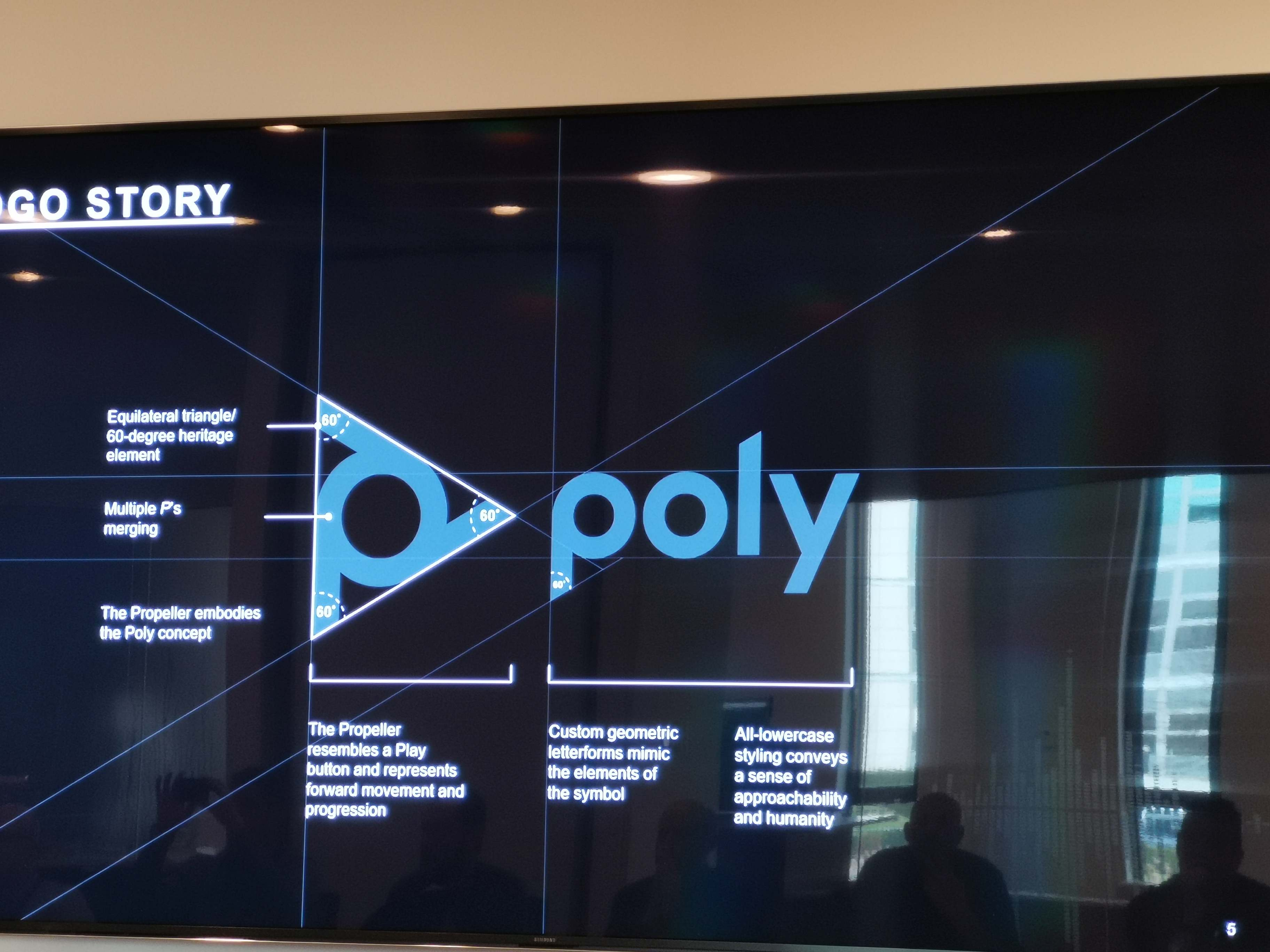 Poly logo in art