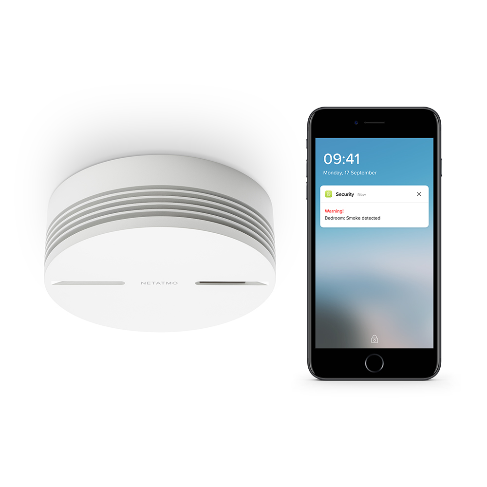 Smoke Alarm iPhone WEB