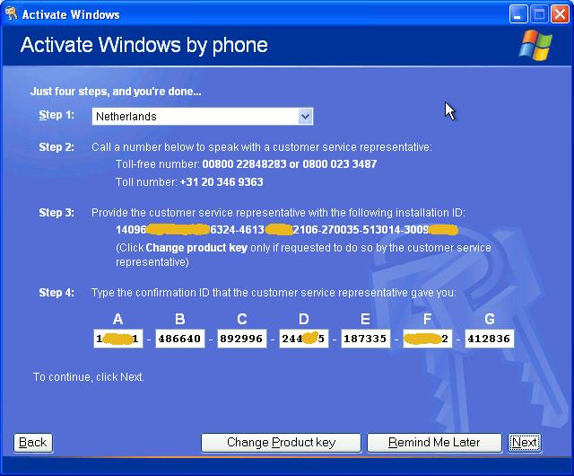 windows 10 activeren lukt niet